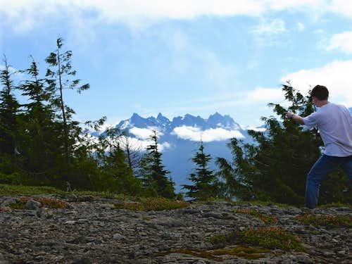 At The Haystack Mountain Summit...