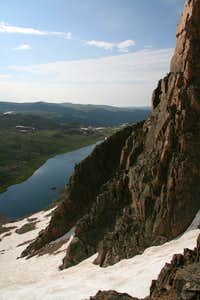 Cliffs and Gardner Lake
