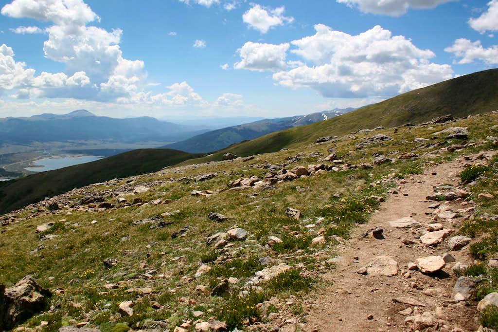 Crossing the Ridge...