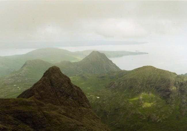 View from Sgurr Nan Gillean.