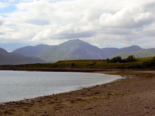 Garbh Bheinn over Loch Linnhe