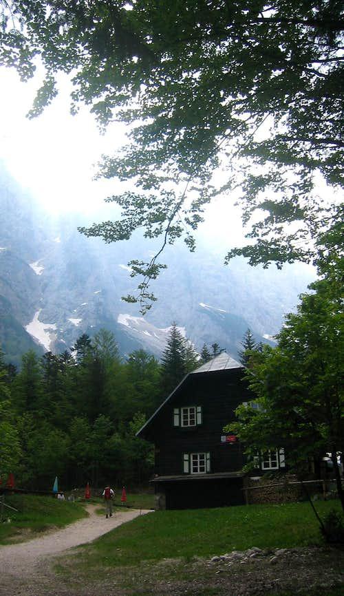Koča in Krnica valley