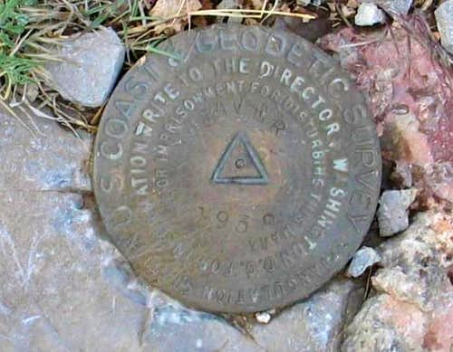 West Mountain Peak Benchmark (UT)