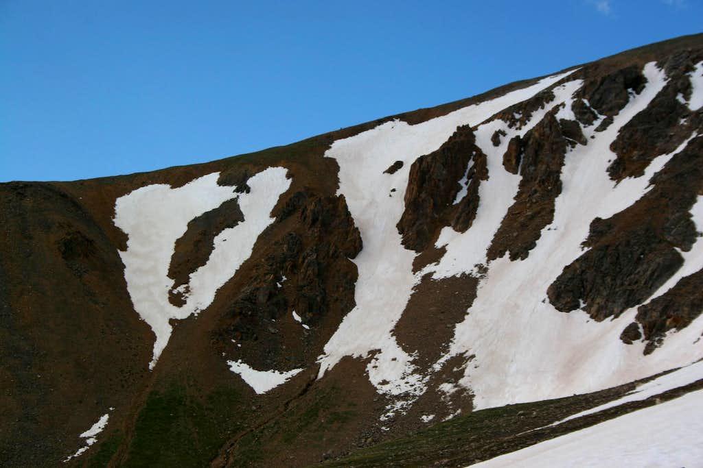 The South Ridge...