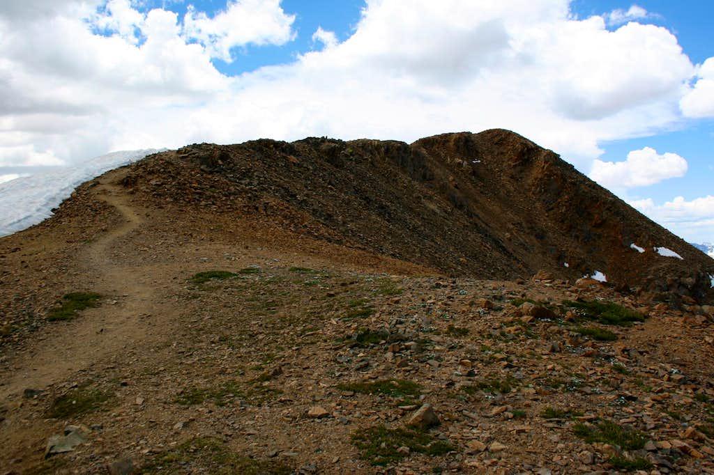 Mt. Elbert Summit Ridge...