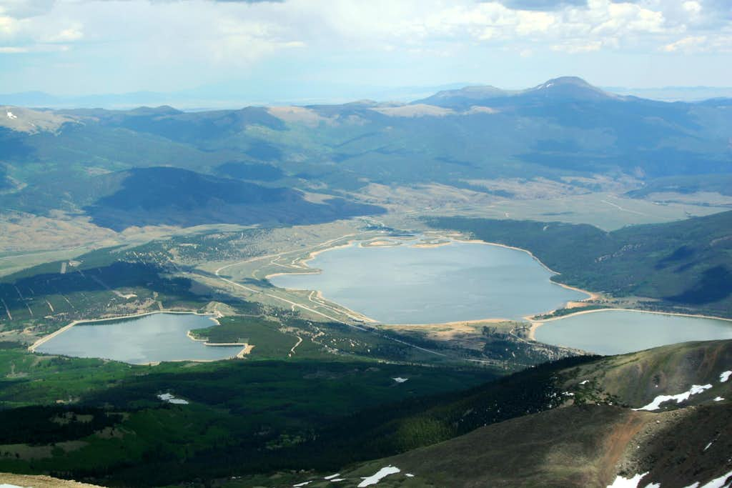 Twin Lakes from Elbert