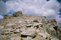 Mt. Thompson summit plateau