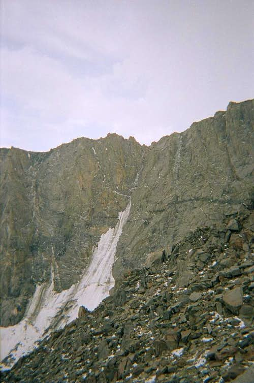 The Moynier Couloir on Mt. Thompson