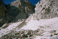 Moynier Couloir on Mt. Thompson