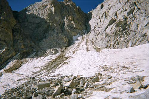 Moynier Couloir on Mt. Thompson
