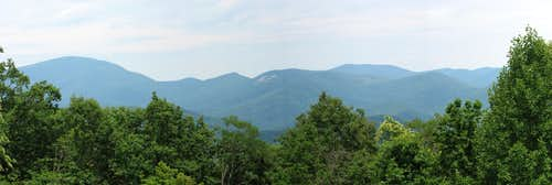 Blood Mountain Panorama