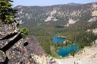 Vanity Lakes basin