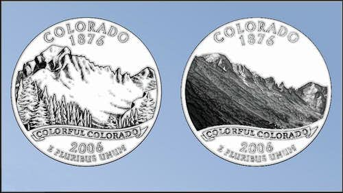 State Quarter Mountains