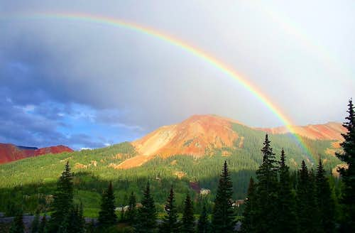 Rainbow on Red Mountain #3
