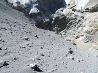 Looking Down Into the Crater