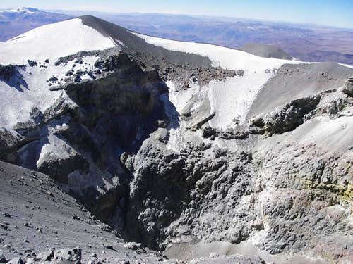 Crater and False Summit