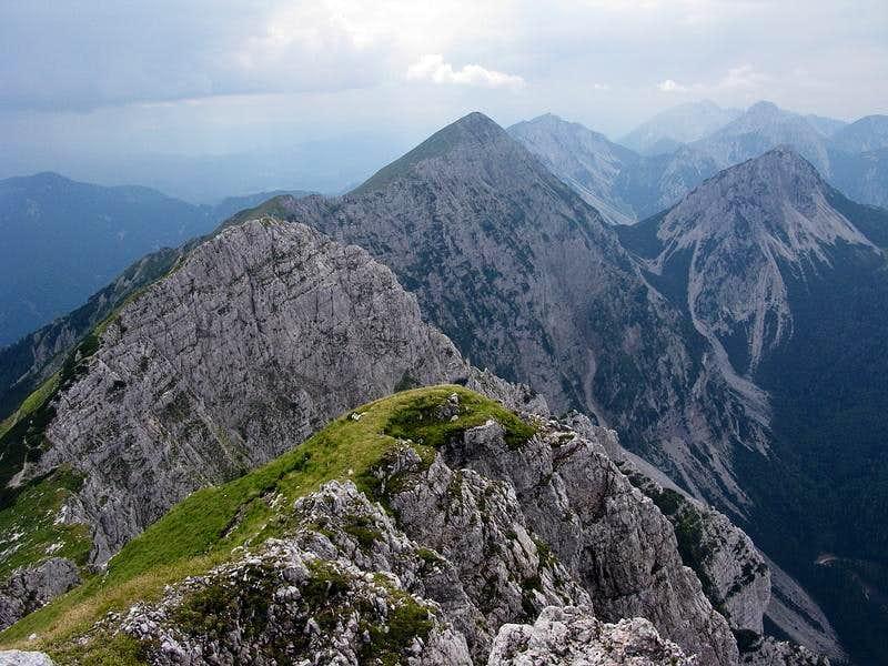 Panorama from Kladivo summit