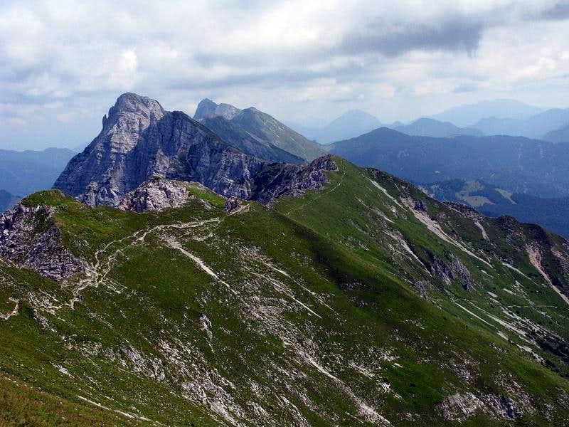 Košuta long ridge