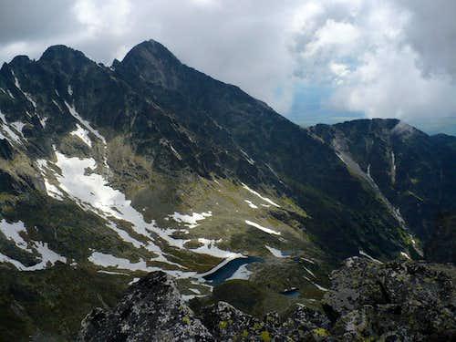 Lomnický štít (2632 m) from Široká veža