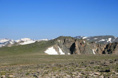 Ptarmigan Point and Ptarmigan Pass