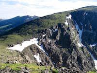 Ridge from Chapin to Chiquita