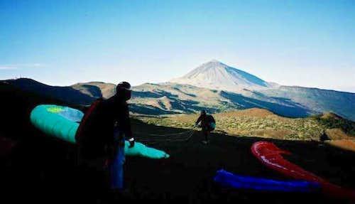 Pico de Teide from Izana...
