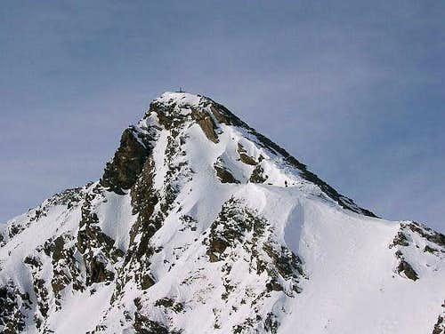 The summit of Zischgeles
