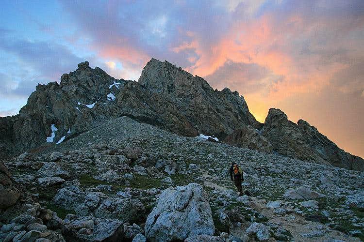 Grand Teton, Upper Exum Ridge