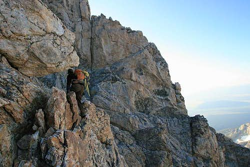 Grand Teton, Upper Exum Ridge