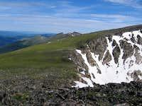 Ridge from Chiquita to Ypsilon