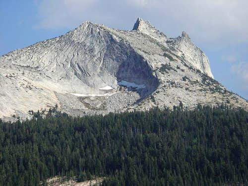 Cathedral Peak & Eichorn Pinnacle, as seen from DAFF