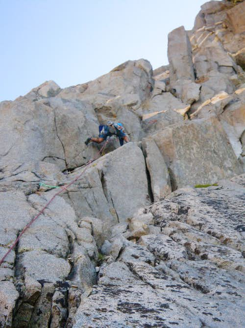 Kostas on the 2nd Pitch of LeConte\'s Revenge
