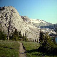 Trail to Medicine Bow Peak