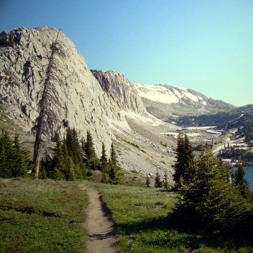 Trail to Medicine Bow Peak