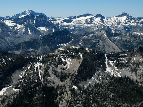 View from West Camas Peak