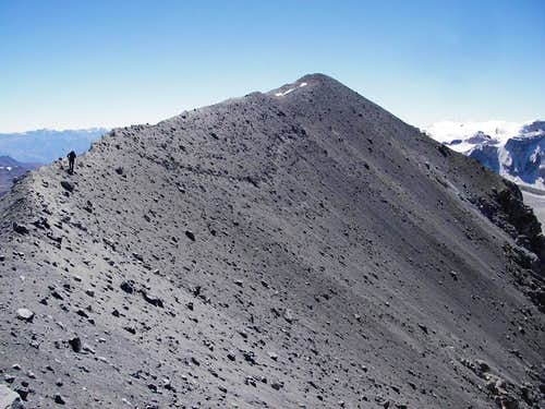 Traverse on the Crater Rim