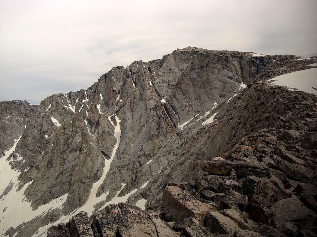A view of Cloud Peak