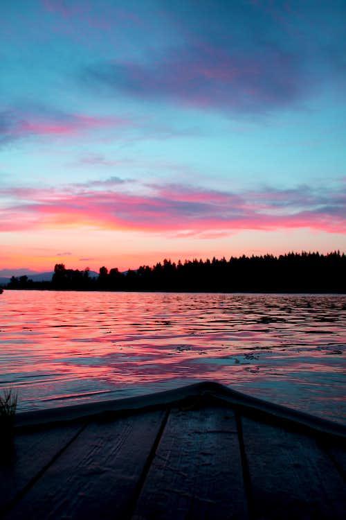 Island Park lake