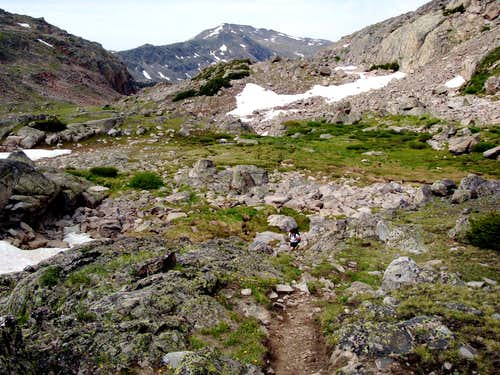 Trail to Cloud Peak