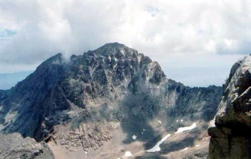 July 2003 - The foreboding Mt...