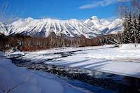 The Elk River in Winter