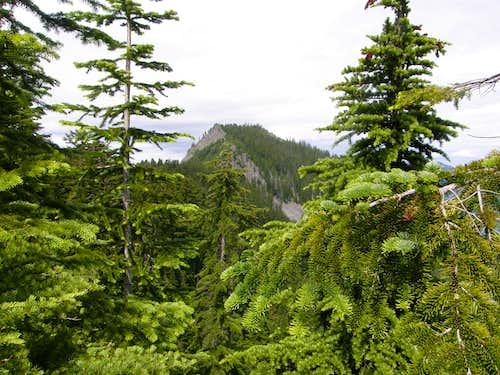 Dirtybox Peak from Dirty Harry's Peak.