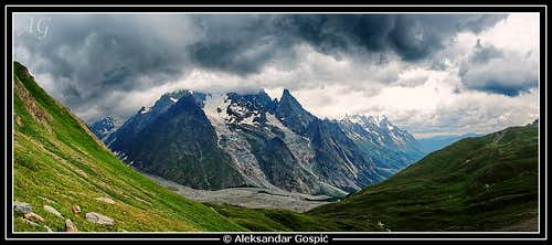 Drama in the Kingdom of Mont Blanc