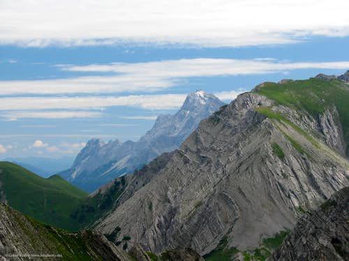Zugspitze behind Gartnerwand