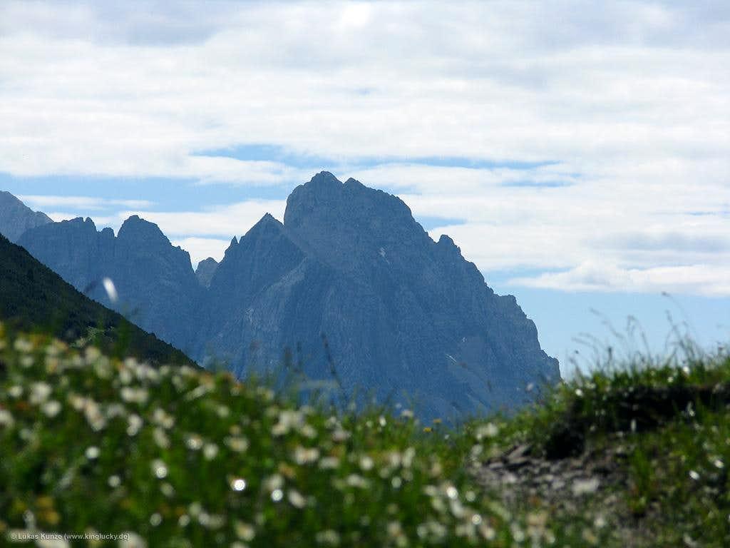 View from Bichlbächler Jöchle