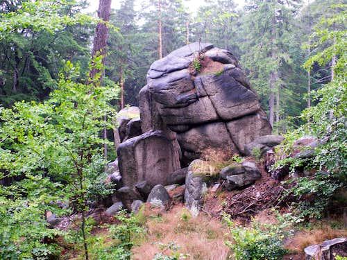 Rocks ...
