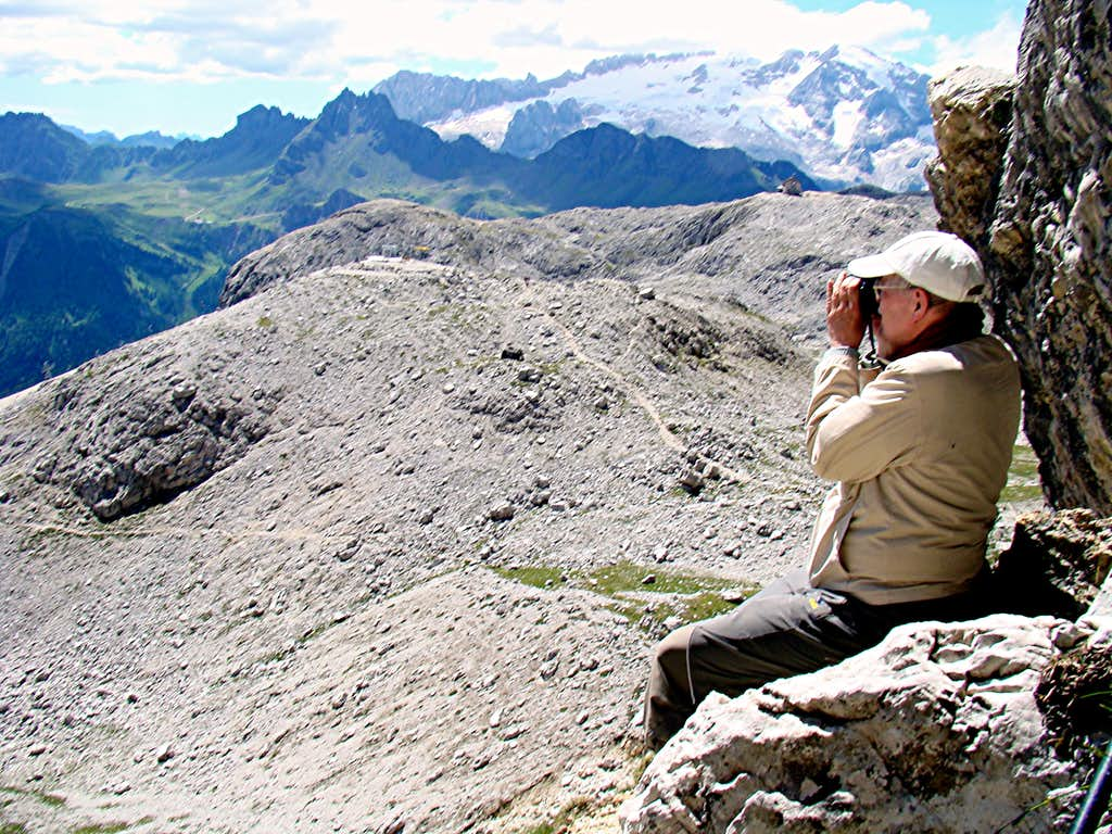 Boèseekofel View