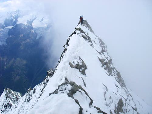 Weisshorn 4506m - east ridge