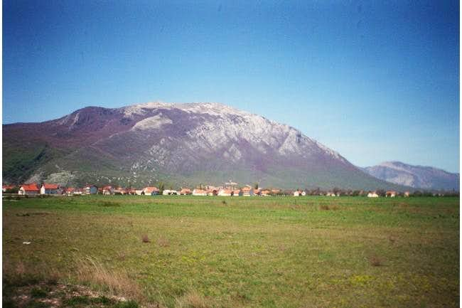 Kamesnica from northern side,...