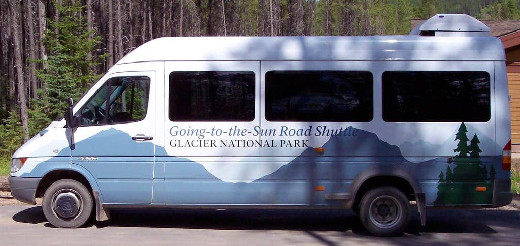 Glacier Shuttle Bus